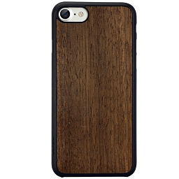 Чехол для iPhone 8/7 Ozaki  O!coat 0.3 + Wood Dark Brown