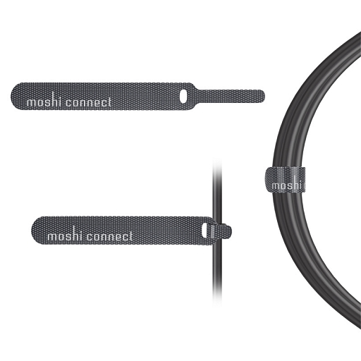 Кабель USB Cable with Lightning Connector Moshi Black (3 m)